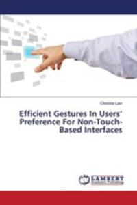 Efficient Gestures In Users' Preference For Non-touch-based Interfaces - 2861274527