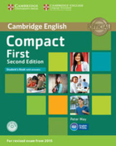 Compact First Student's Book With Answers Cd - 2840057939
