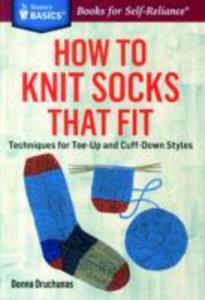 How To Knit Socks That Fit - 2840249187