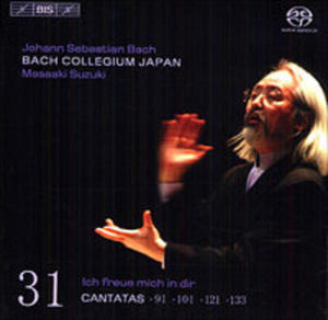 Cantatas Vol. 31: Bwv 91, 101, 121, 133 - 2839240044