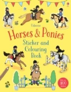 Horses & Ponies Sticker And Colouring Book - 2840406159
