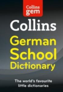 Collins School - Collins Gem German School Dictionary - 2840009939