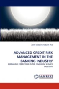 Advanced Credit Risk Management In The Banking Industry - 2857080766