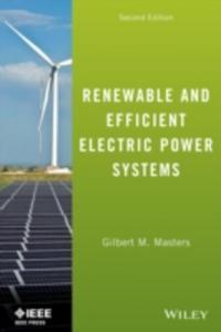 Renewable And Efficient Electric Power Systems - 2853927420