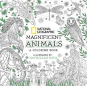 National Geographic Magnificent Animals: Coloring Book - 2844460968