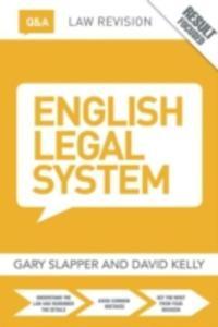 Q & A English Legal System - 2849919929