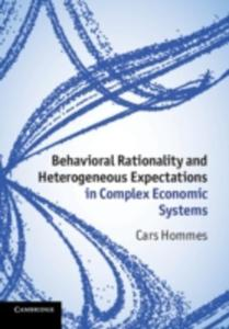 Behavioral Rationality And Heterogeneous Expectations In Complex Economic Systems - 2839896502