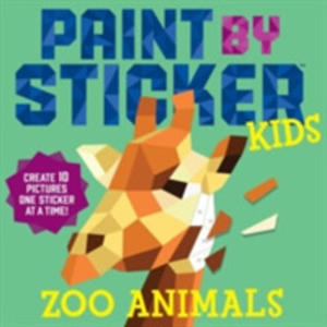 Paint By Sticker Kids: Zoo Animals - 2840418561