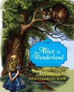 Alice In Wonderland Giant Poster And Coloring Book - 2849497086