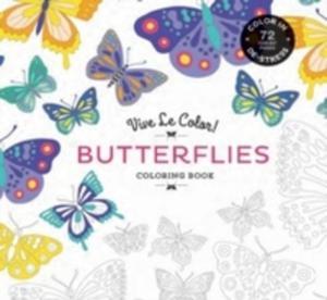 Vive Le Color! Butterflies (Coloring Book) - 2847666246