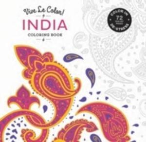 Vive Le Color! India (Coloring Book) - 2840394317