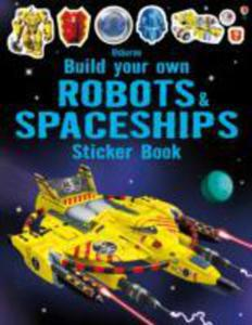 Build Your Own Robots And Spaceships Sticker Book - 2840261028