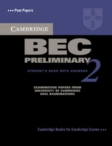 Cambridge Bec Preliminary 2 Student's Book With Answers - 2839997606