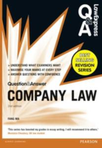 Law Express Question And Answer: Company Law (Q & A Revision Guide) - 2849511878
