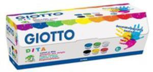 Giotto Farby 6 Kolor�w - 2840365870