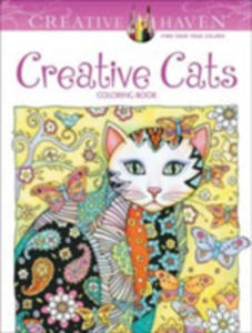 Creative Haven Creative Cats Coloring Book - 2845348780