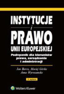 Instytucje I Prawo Unii Europejskiej - 2840295248