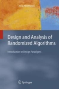 Design And Analysis Of Randomized Algorithms - 2849505320