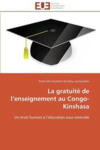 La Gratuite De L'enseignement Au Congo - Kinshasa - 2860394857