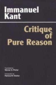 Critique Of Pure Reason - 2848177373