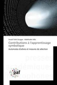 Contributions `a L'apprentissage Symbolique - 2860703594