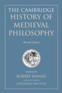 The Cambridge History Of Medieval Philosophy - 2849506867