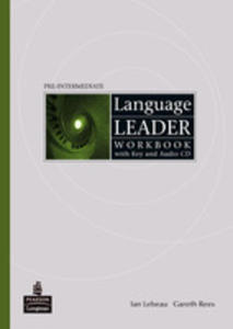 Language Leader Pre-intermediate - Workbook (No Key) Plus Audio Cd [Zeszyt Ćwiczeń Bez Klucza Plus Audio Cd] - 2839265747