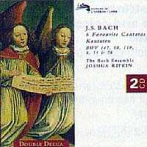 6 Favourite Cantatas - Bwv 147, 80, 8, 140, 51 And 78 - 2839189473