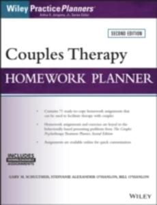 Couples Therapy Homework Planner - 2849519722