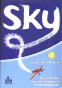 Sky 1 - Students' Book Plus Cd-rom [Książka Ucznia Plus Cd-rom] - 2839266019