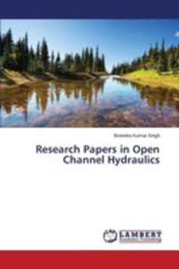Research Papers In Open Channel Hydraulics - 2857255507
