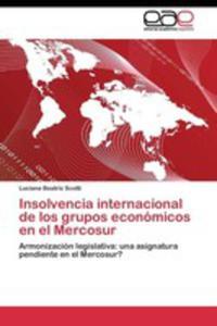 Insolvencia Internacional De Los Grupos Económicos En El Mercosur - 2857253575