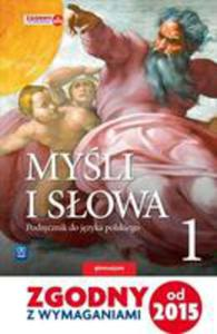J.polski Gim 1 Myśli I Słowa Podr. Wsip