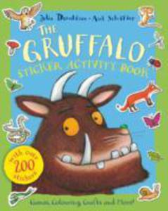 The Gruffalo Sticker Activity Book - 2844429065