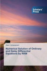 Numerical Solution Of Ordinary And Delay Differential Equations By Rkm - 2857256866