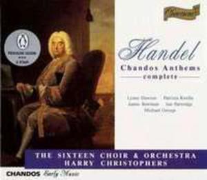 Handel: Chandos Anthems Box - 2839250438