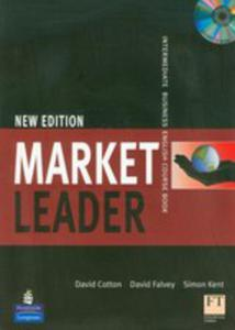 Market Leader Intermediate New Edition - Coursebook Plus Self-study Cd-rom [Książka Ucznia Plus Cd-rom] - 2850511072