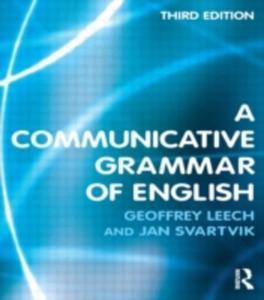 A Communicative Grammar Of English - 2839949405