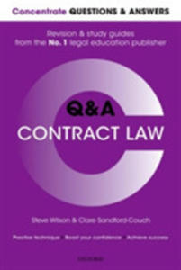 Concentrate Questions And Answers Contract Law - 2849521806