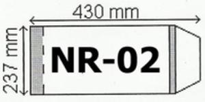 Okładka Na Podr B5 Regulowana Nr 2 (50szt) Narnia - 2840164878