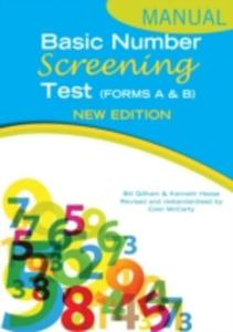 Basic Number Screening Test Manual - 2846017721
