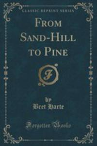 From Sand-hill To Pine (Classic Reprint) - 2852949714