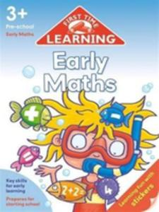 First Time Learning 3 + Early Maths - 2857047035