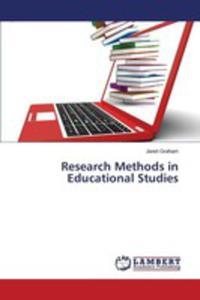 Research Methods In Educational Studies - 2871081308