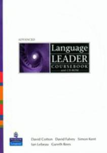 Language Leader Advanced - Coursebook Plus Cd-rom Plus Mylanguageleaderlab Access Code [Książka Ucznia Plus Cd-rom Plus Kod Dostępu Do My Language Leader Lab] - 2839265694