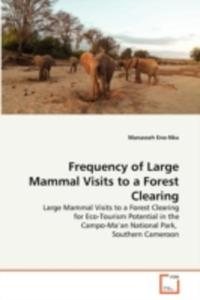 Frequency Of Large Mammal Visits To A Forest Clearing - 2857113076