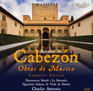 Cabezon: Obras De Musica - Complete Edition - 2870072270
