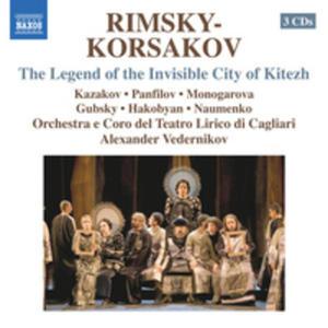 Rimsky - Korsakov: The Legend Of The Invisible City Of Kitezh - 2839284352