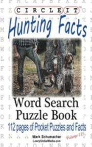 Circle It, Hunting Facts, Word Search, Puzzle Book - 2853988556