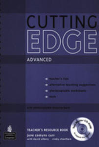 Cutting Edge Advanced - Teacher's Book Plus Test Master Cd-rom [Ksi��ka Nauczyciela Plus Test Master Cd-rom] - 2839265802